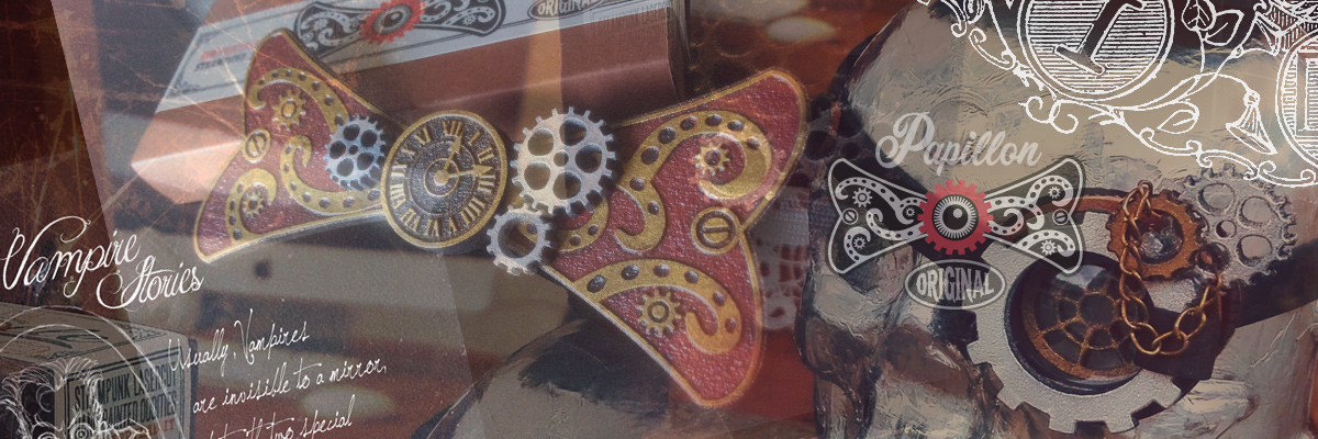 Steampunk PAPILLON